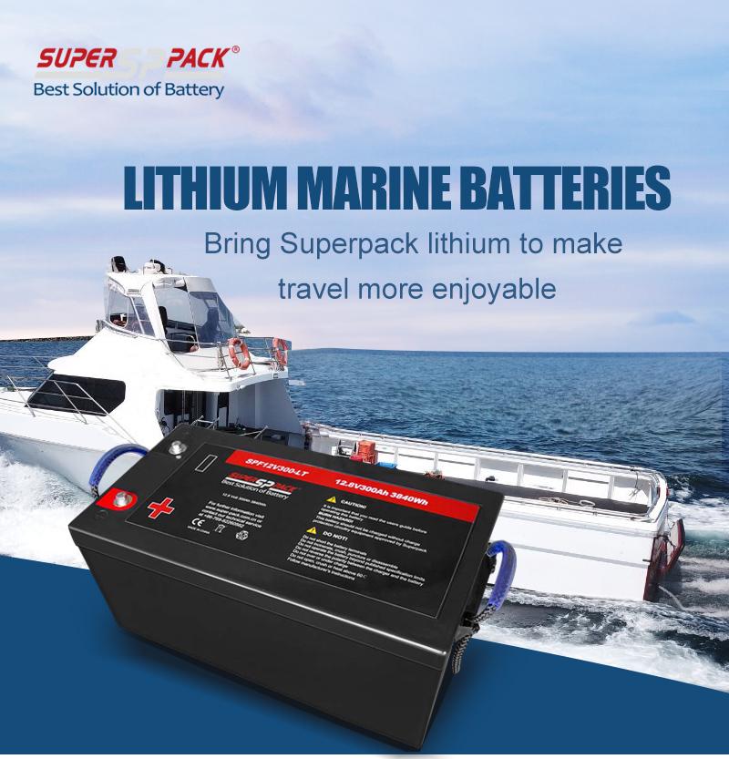 Superpack 12V300Ah Low Temperature Marine Battery
