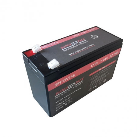 12V7Ah LiFePO4 Battery for  emergency light