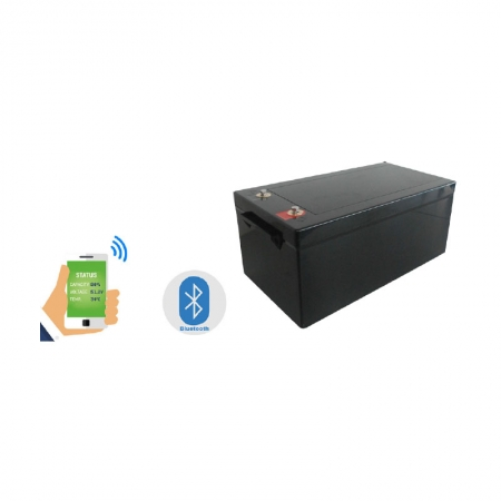 Recreational Vehicles Batteries,12V300Ah LiFePO4 Battery Bluetooth Version for RV