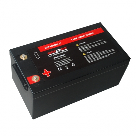 Rechargeable 12V 200Ah solar batteries