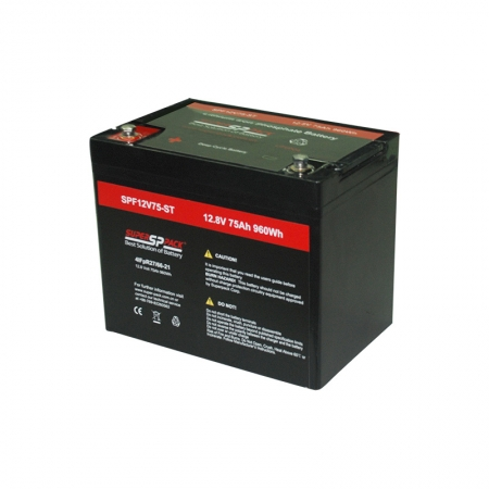 battery energy storage system-12V 75Ah lithium ion battery storage