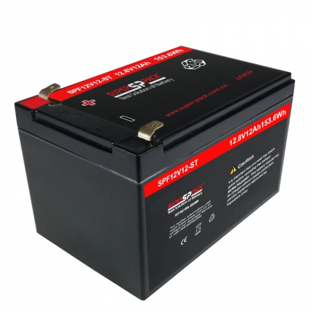 Deep Cycle Rechargeable Lithium LiFePO4 Battery 12.8V 12Ah