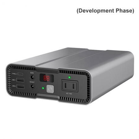SPN-100-111A Compact and Light Portable Power Station Battery Aluminum Alloy
